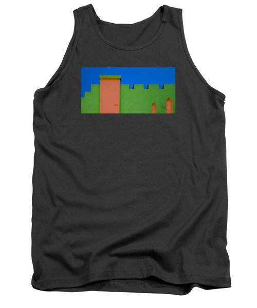 Crenellated Roof Tank Top