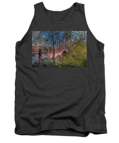 Tank Top featuring the photograph Crim Dell Bridge by Jerry Gammon