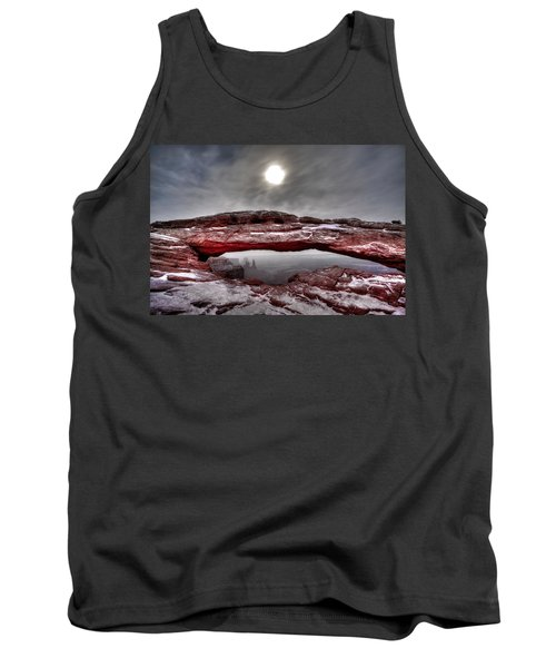 Tank Top featuring the photograph Crimson Arch by David Andersen