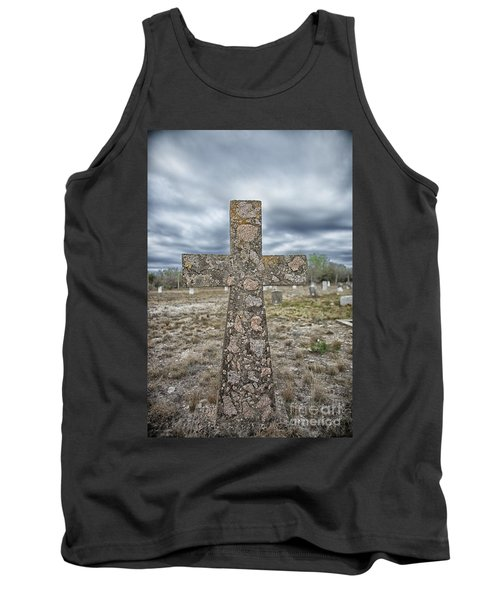 Cross With No Name Tank Top by Erika Weber