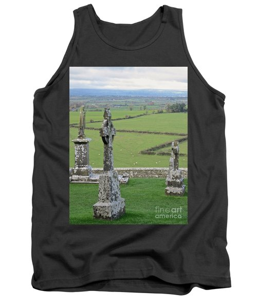 Tank Top featuring the photograph Crosses Of Cashel by Suzanne Oesterling