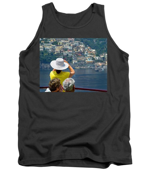 Cruising The Amalfi Coast Tank Top