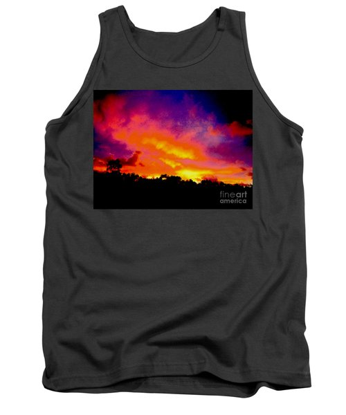 Tank Top featuring the photograph Crystal Sunrise by Mark Blauhoefer