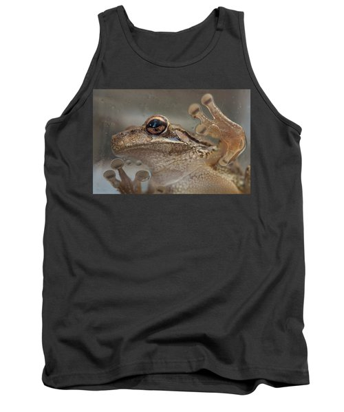 Cuban Treefrog Tank Top by Paul Rebmann