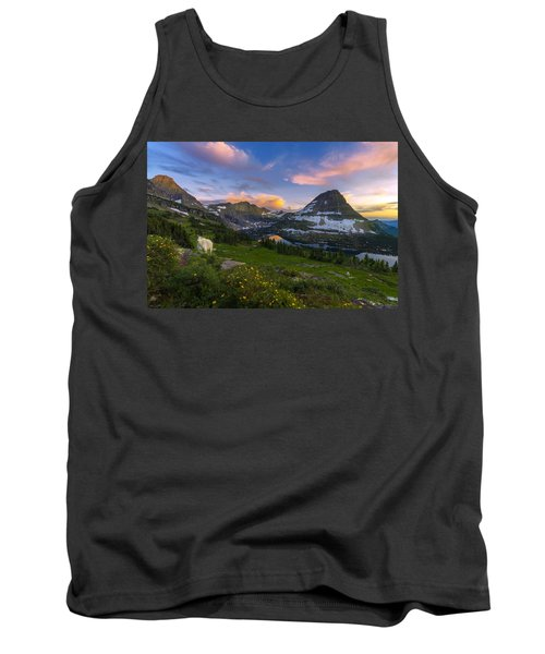 Tank Top featuring the photograph Curious Goat by Dustin  LeFevre