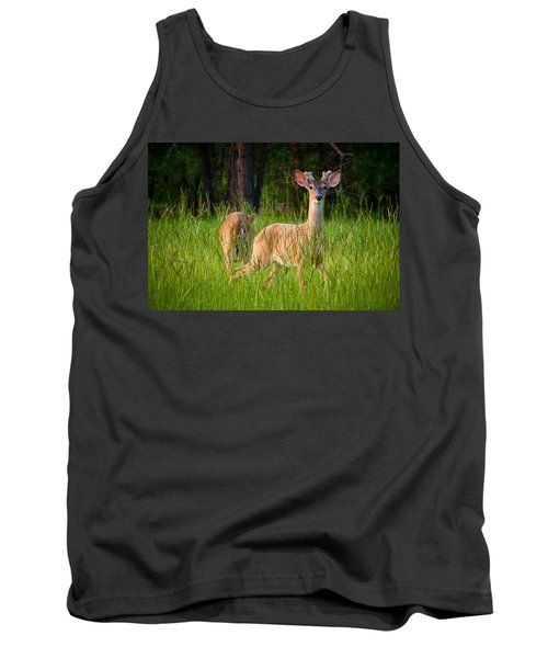 Curious Tank Top by Linda Unger