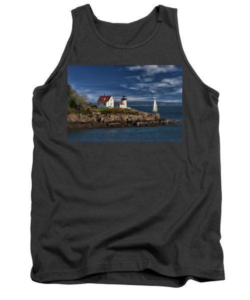 Curtis Island Lighthouse Maine Img 5988 Tank Top