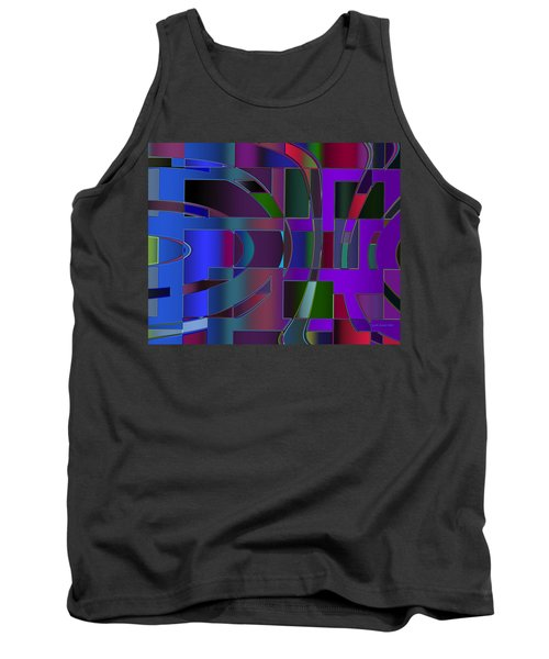 Curves And Trapezoids 2 Tank Top