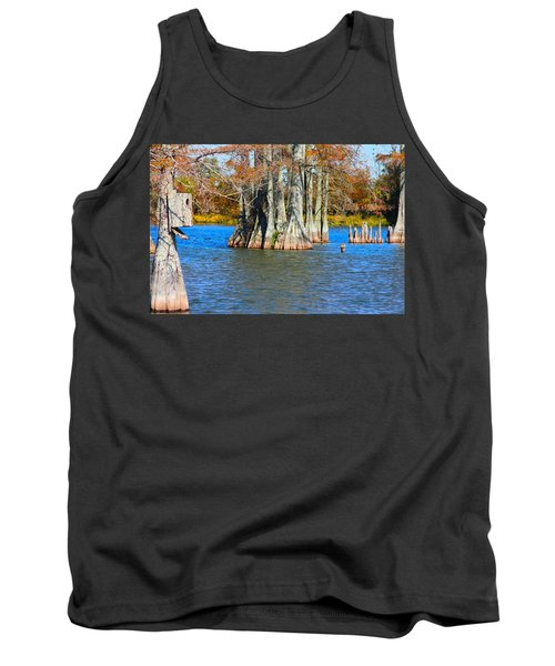 Cypress Birdhouse  Tank Top