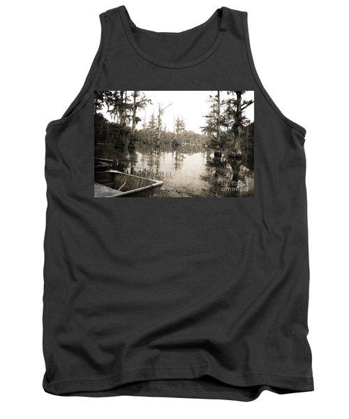 Cypress Swamp Tank Top by Scott Pellegrin
