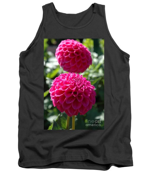 Tank Top featuring the photograph Dahlia Xi by Christiane Hellner-OBrien