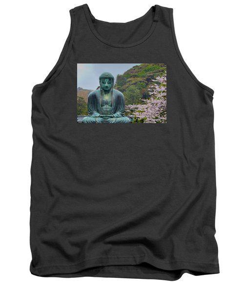 Daibutsu Buddha Tank Top by Alan Toepfer