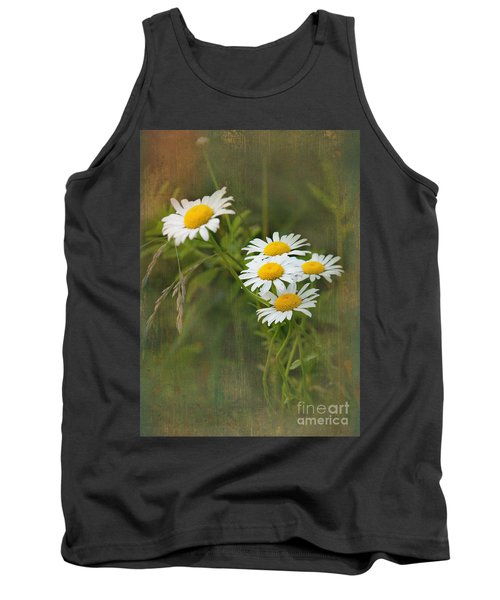 Daisies Tank Top by Lena Auxier