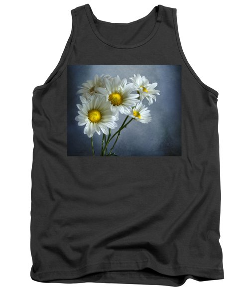 Tank Top featuring the photograph Daisy Bouquet by Ann Lauwers