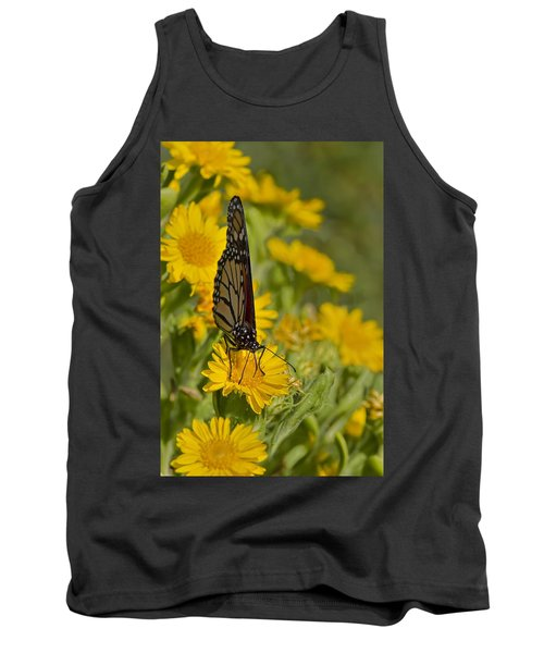 Tank Top featuring the photograph Daisy Daisy Give Me Your Anther Do by Gary Holmes