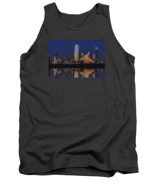 Dallas Aglow Tank Top by Rick Berk