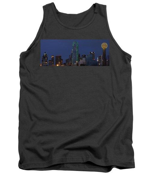 Dallas Skyline Tank Top by Jonathan Davison