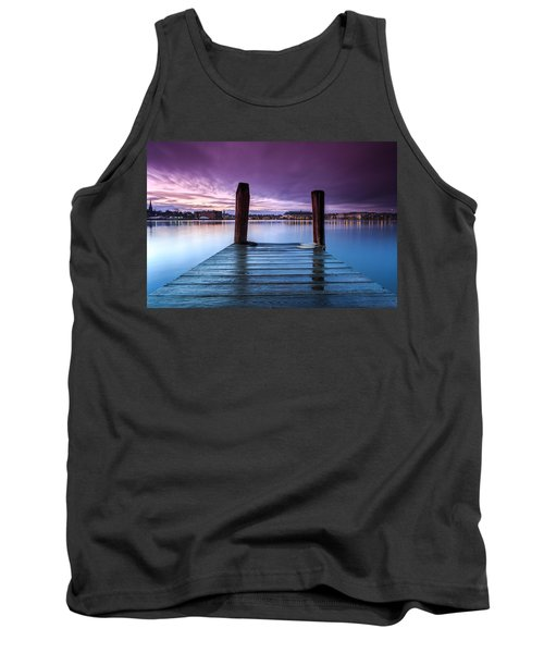 Damp Sunset Tank Top
