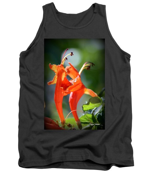Tank Top featuring the photograph Dancing In The Moonlight by Debra Martz