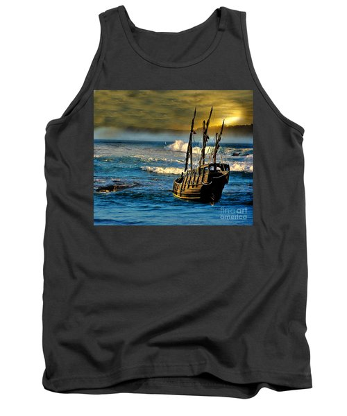 Dangerous Waters Tank Top by Blair Stuart