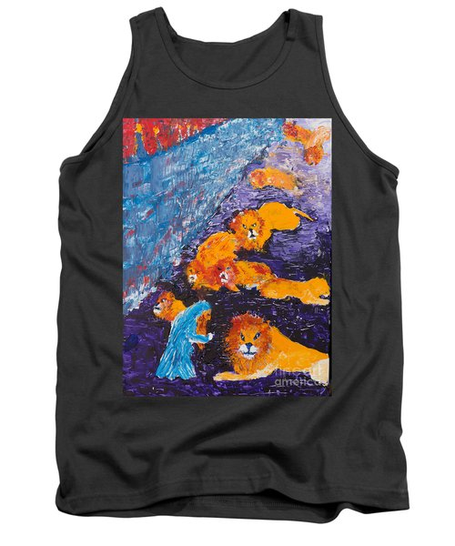 Daniel And The Lions Tank Top