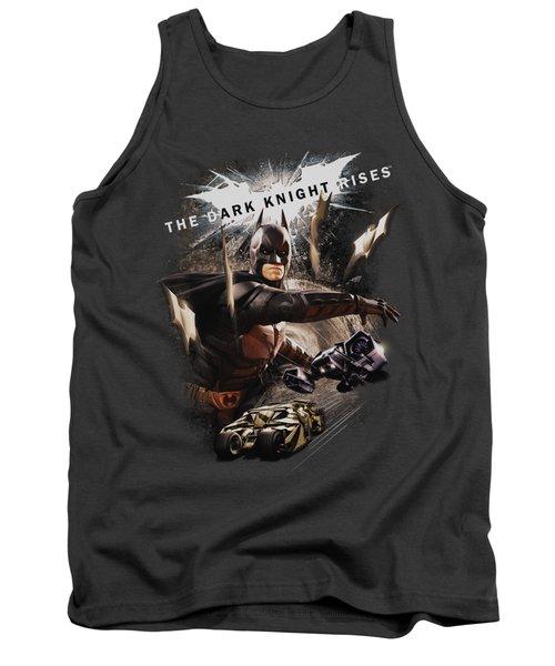 Dark Knight Rises - Imagine The Fire Tank Top