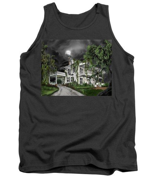 Dark Plantation House Tank Top