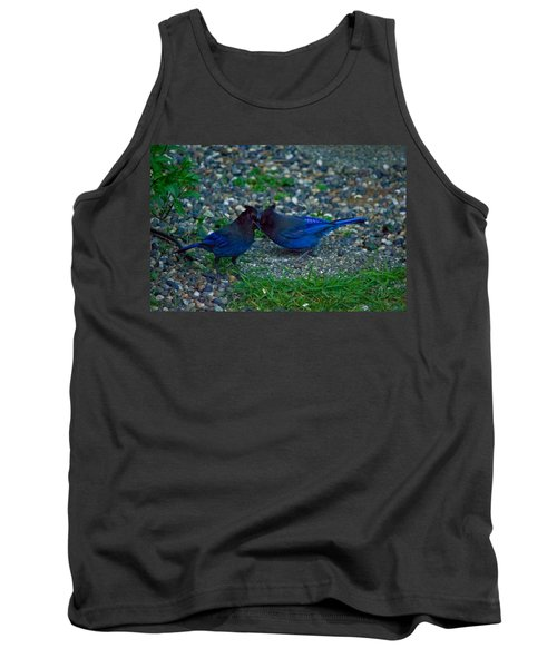 Darling I Have To Tell You A Secret-sweet Stellar Jay Couple Tank Top