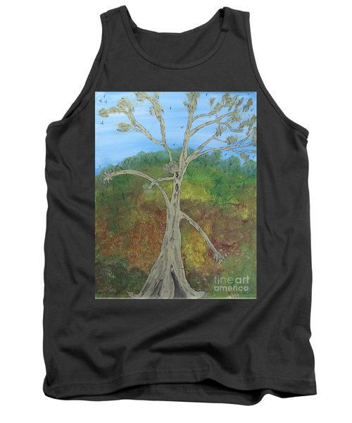 Dash The Running Tree Tank Top