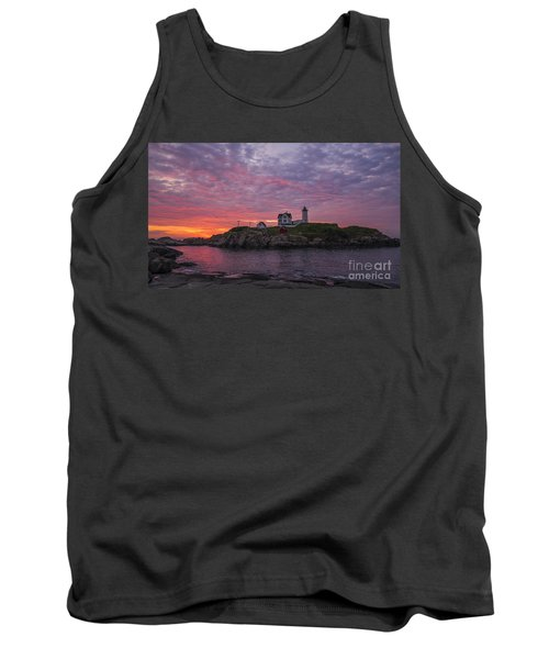 Dawn At The Nubble Tank Top