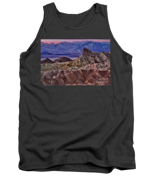 Tank Top featuring the photograph Dawn At Zabriskie Point by Jerry Fornarotto