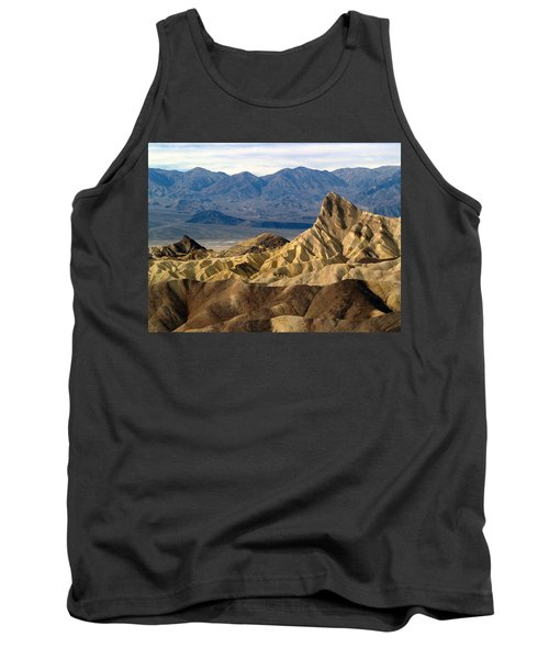 Death Valley Np Zabriskie Point 11 Tank Top
