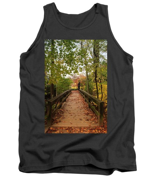 Decorate With Leaves - Holmdel Park Tank Top