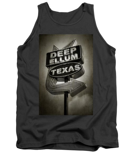 Tank Top featuring the photograph Deep Ellum by Joan Carroll