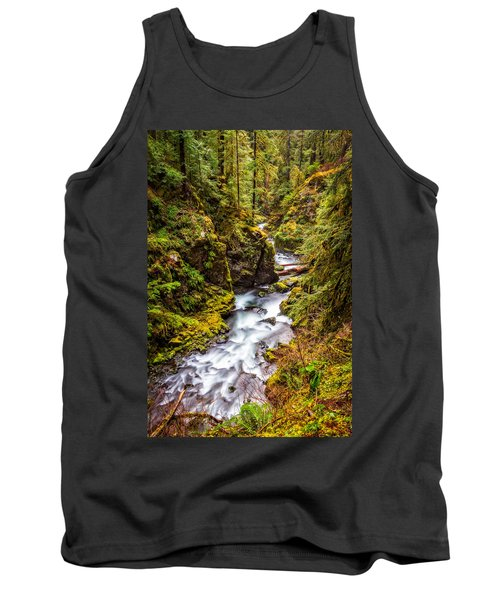 Deep In The Forest Tank Top by Ken Stanback
