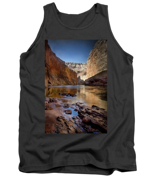 Deep Inside The Grand Canyon Tank Top by Ellen Heaverlo