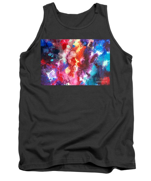 Deep Water Coral Tank Top