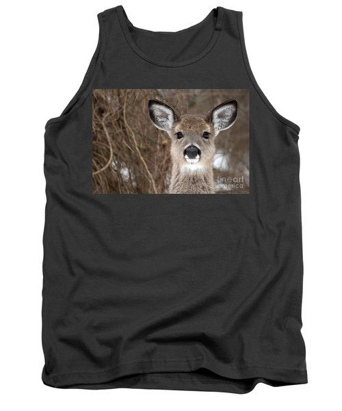 Deer Tank Top by Jeannette Hunt