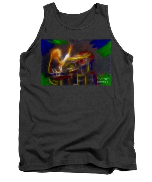 Def Leppard-adrenalize-gf24-ricka-fractal Tank Top