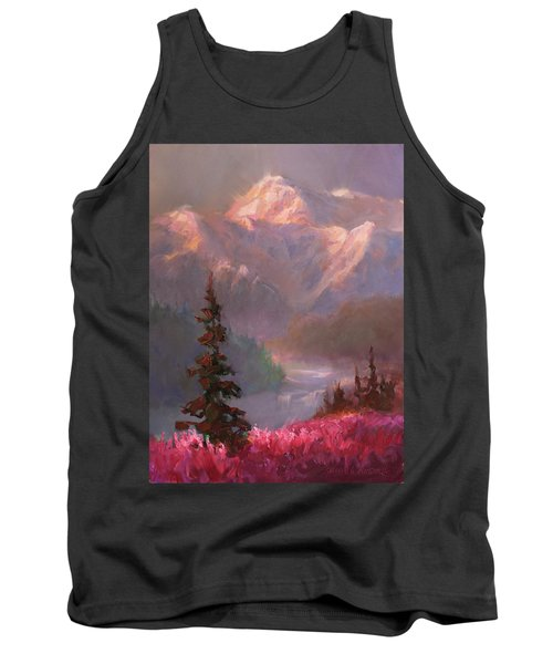 Denali Summer - Alaskan Mountains In Summer Tank Top