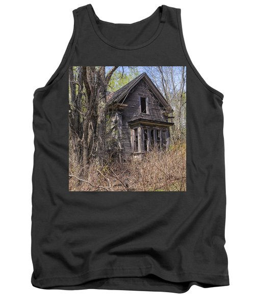 Tank Top featuring the photograph Derelict House by Marty Saccone