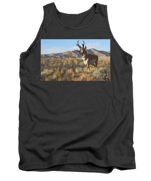 Desert Buck Tank Top by Rob Corsetti