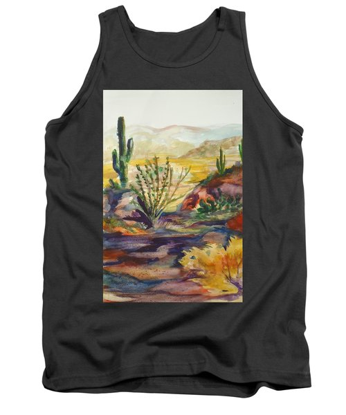 Desert Color Tank Top