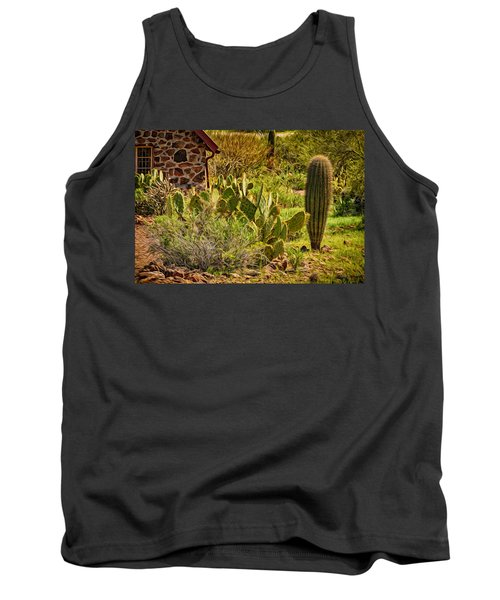 Tank Top featuring the photograph Desert Dream by Mark Myhaver