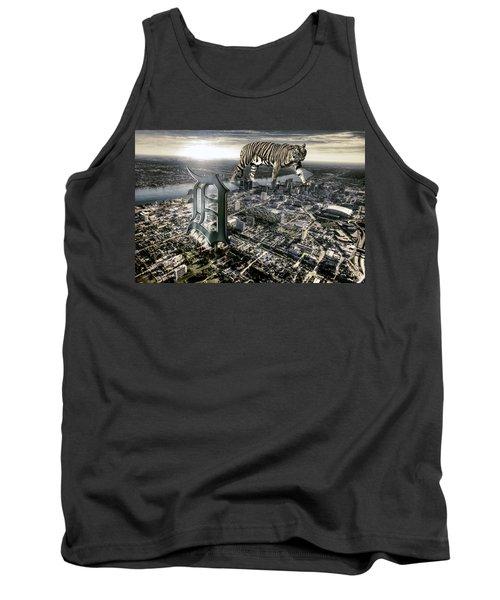 Detroit Tank Top by Nicholas  Grunas