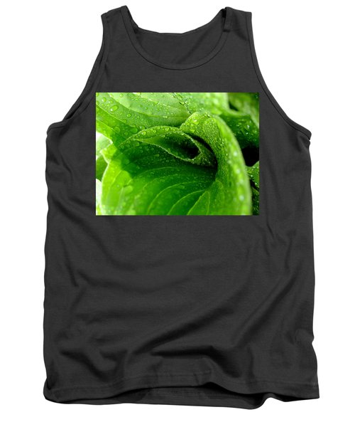 Dew Drops Tank Top by Lisa Phillips