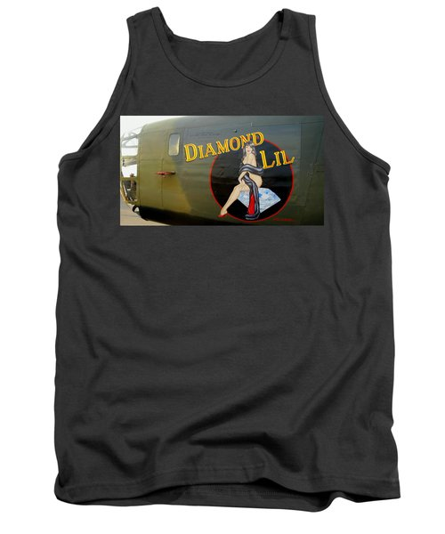 Diamond Lil B-24 Bomber Tank Top