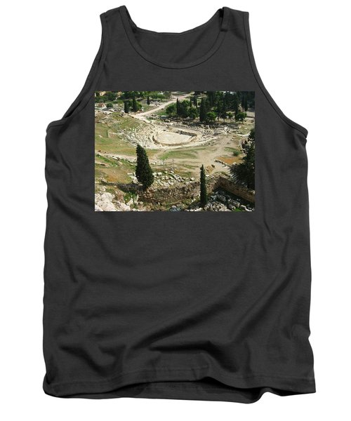 Dionysus Amphitheater Tank Top