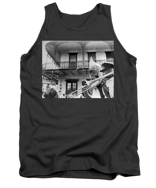 Dirge For Bourbon House Tank Top