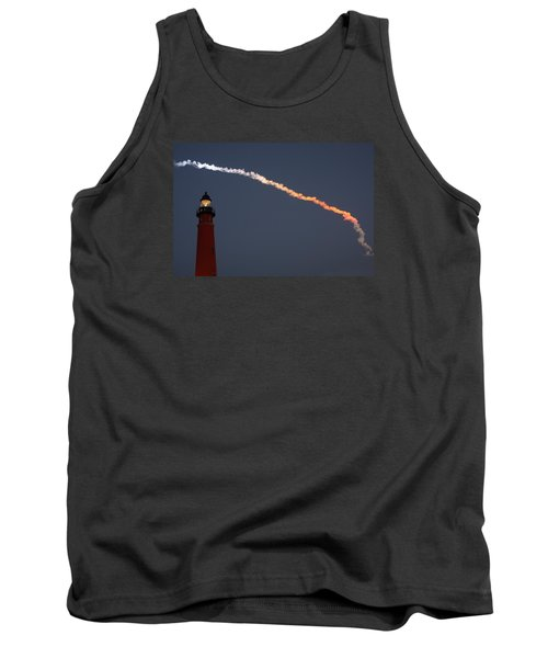 Tank Top featuring the photograph Discovery Sunset Plume by Paul Rebmann